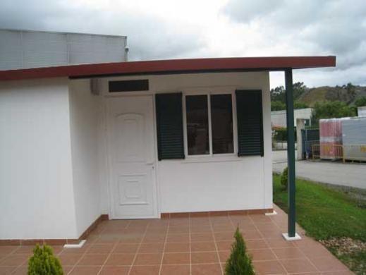 Casa prefabricada paneles 50m2 de la categoria casas prefabricadas panel s ndwich viviendas - Casas de panel sandwich ...