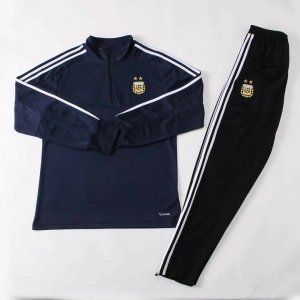 d0db2cacb37 2018 Tracksuit Argentina Replica Navy Football Suit  BFC666