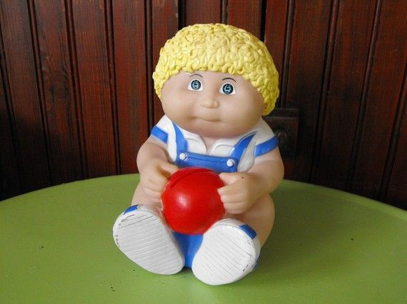 Vintage 1983 Cabbage Patch Baby Blonde Baby Boy by peacenluv72, $13.85