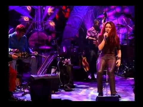SHAKIRA  MTV UNPLUGGED Aquella Shakira de sus comienzos