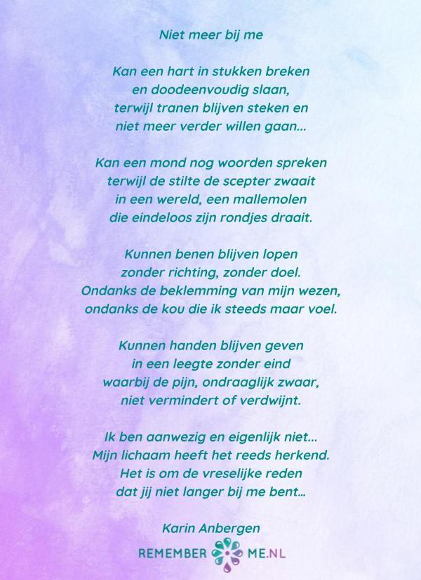 Verrassend Lees gedichten over rouw en verlies (met afbeeldingen DK-05