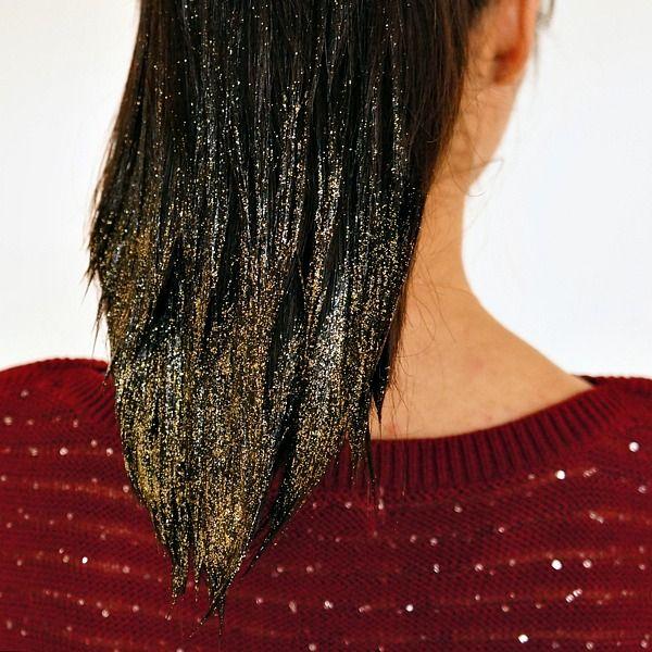 diy hair glitter gel08