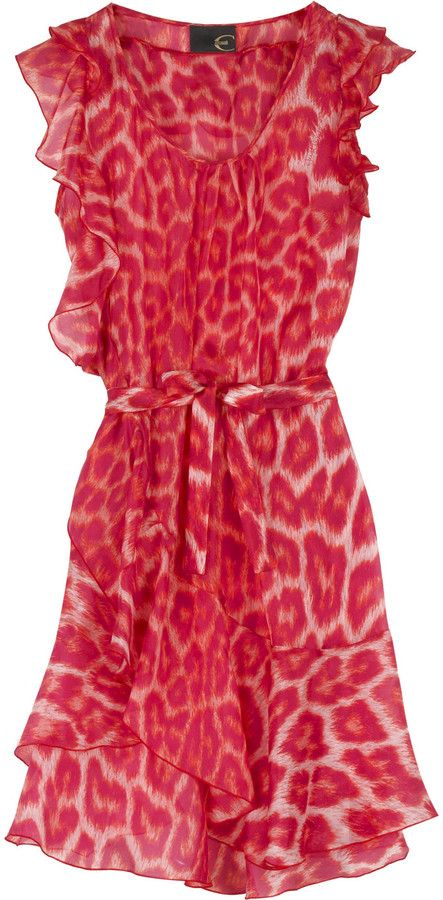 5c0313798261 Shop for Silk animal print dress by Just Cavalli at ShopStyle. Now for Sold  Out.