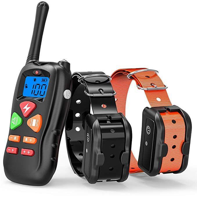 Cambond Dog Training Collar 2 Dog Shock Collar With Remote