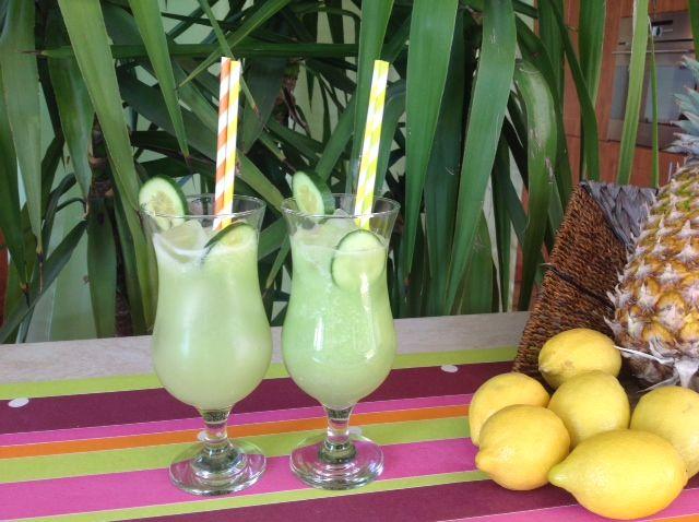 Refreshing cucumber lemonade https://www.youtube.com/watch?v=JMPrqoSr6TE&list=UUz68KJVhtnJvmosQ4JNYIuQ
