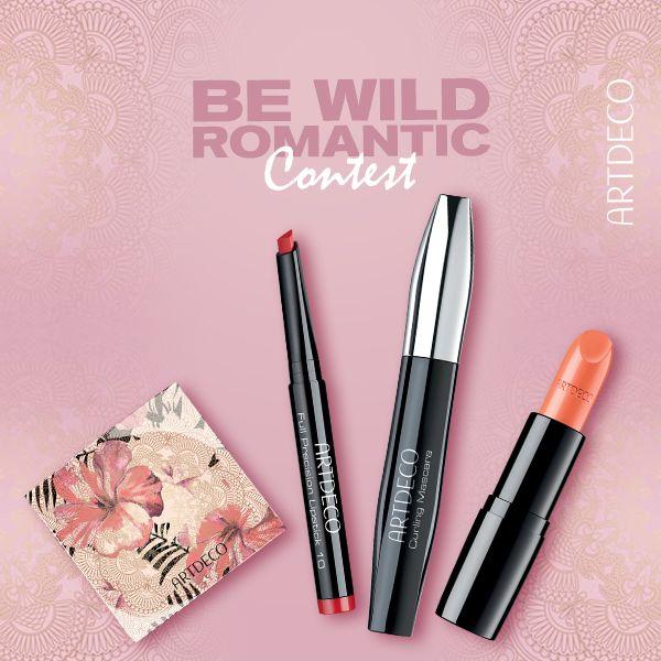 Διαγωνισμός ARTDECO cosmetics με δώρο το πλήρες Wild Romance Look της Artdeco https://getlink.saveandwin.gr/b3N