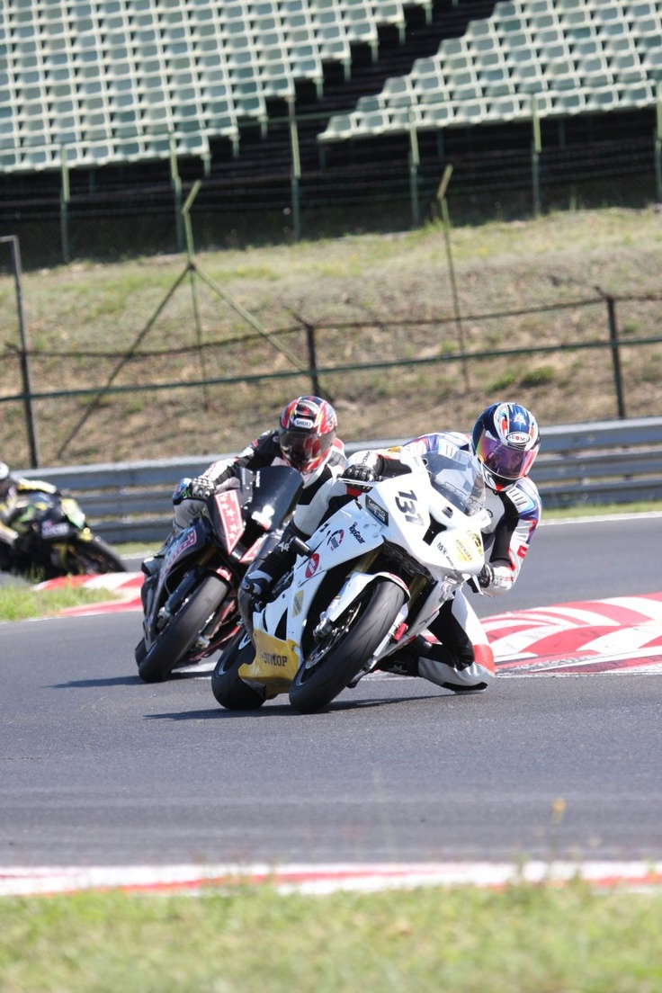 Dan Vargolici, #131 on Hungaro Ring  DUNLOP Romanian Superbike 2012