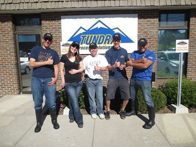 #TBT #YYC #Flood #Throwback Team Tundra ready and excited to help out with the YYC flood!