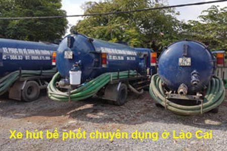 Công ty hút bể phốt,hầm cầu ở Lào Cai làm cực chuẩn,giá tốt