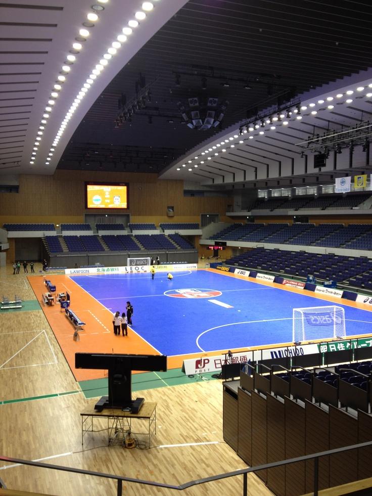 Futsal arena!
