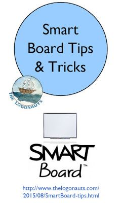 Smart Board Tips and Tricks | The Logonauts