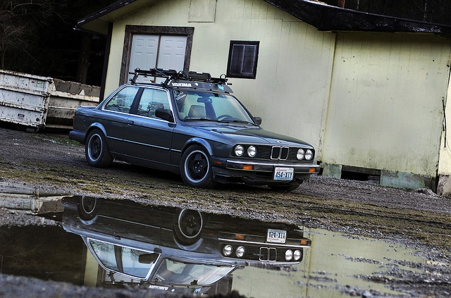 Bmw E30 3 Series With A Roof Rack How Practical Genuine Bimmers Photos And