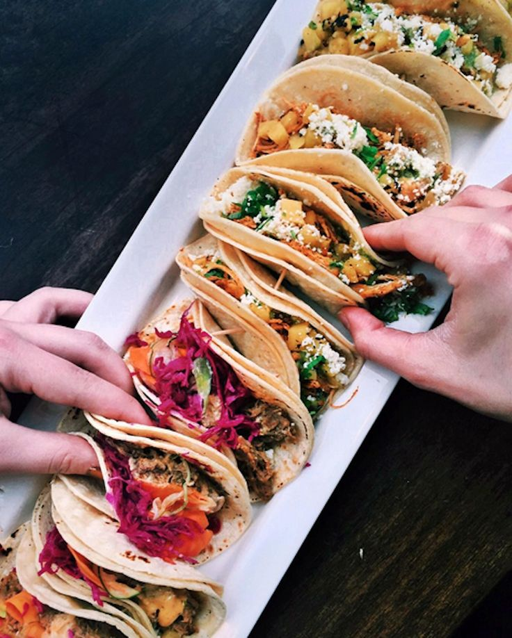 Taco party ☆ Join our Pinterest Fam: @SkinnyMeTea (140k+) ☆ Oh, also use our code 'Pinterest10' for 10% off your next teatox ♡