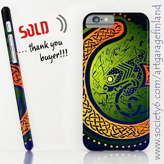 Sold!  ..thanks to person who recently bought this 'Irish Twist' iPhone 7 slim case design from my Society6 webstore. #shareyoursociety6 #iphone #iphone7 #celticdesigns #celtic #folklore #irish #ireland #society6 #phonecase #iphonecase #legend #oldstyle #instaphone #sold #art #phonecover #green #instalike #instaart #artoninstagram #artist #celticknot #irishgifts #apple #appleiphone #paddysday #stpatricksday #cellphone #cellphonecase