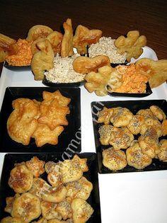 Biscotti salati e salatini