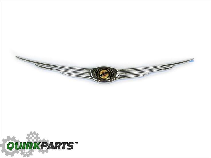 06-10 Chrysler PT Cruiser Chrome Wing Hood Emblem Nameplate MOPAR GENUINE OEM | eBay Motors, Parts & Accessories, Car & Truck Parts | eBay!
