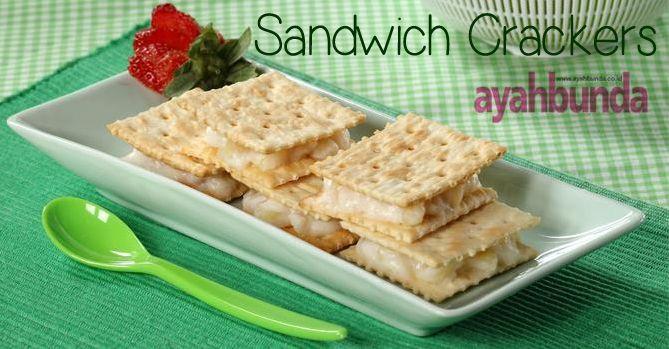Sandwich Crackers :: Klik website di atas agar tahu bagaimana caranya membuat sandwich crackers
