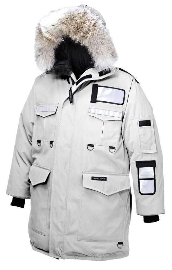 Mens Canada Goose Resolute Parka White   Men Canada Goose   Pinterest   Canada goose