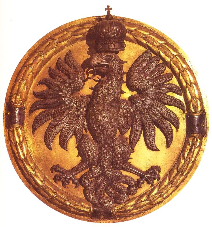 Eagle from a niche above the tomb of Anna Jagiellon in the Wawel Cathedral by Santi Gucci, 1583-1584, commissioned by the Queen