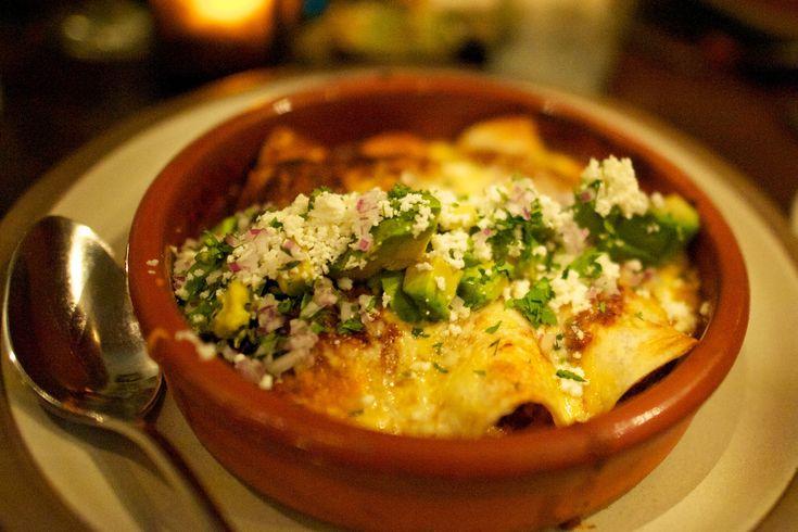 Roasted Vegetable Enchiladas | Easy Recipes | Pinterest