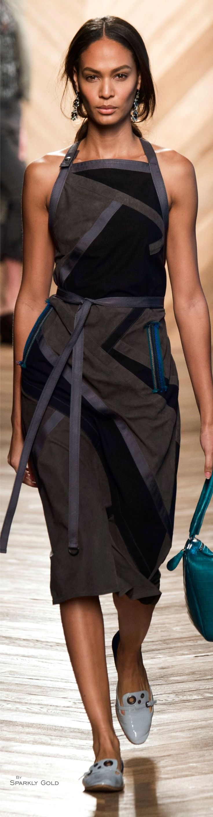 "Bottega Veneta Spring 2016 ""And the LORD said to Moses, ""Go to the people and consecrate them today and tomorrow. Have them wash their clothes."" Exodus 19:10"