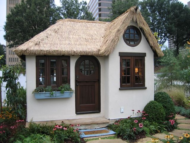 234 best tool shed ideas images on pinterest wood for Shed roof cottage