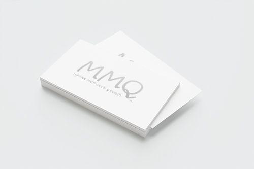 MMQ Studio Business Cards www.maybemcqueen.com