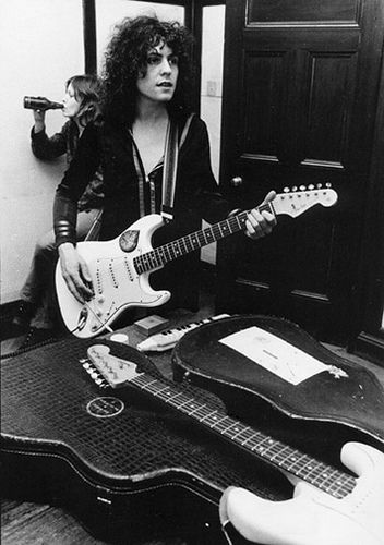Marc Bolan / T.Rex / Rock / Glam / Guitare / Vintage / Photography / Black & White