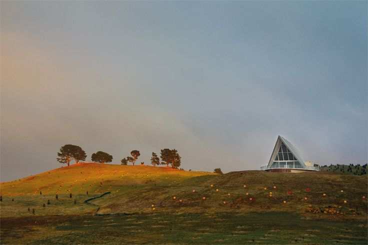 National Arboretum Canberra - Photograph by John Gollings