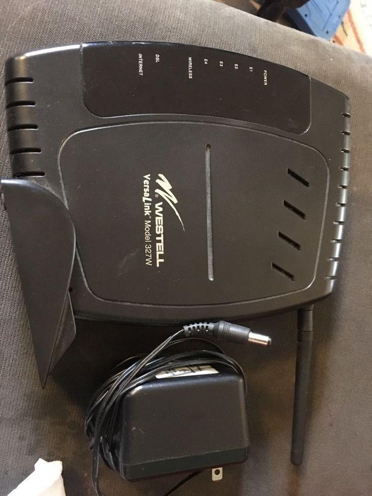 Westell Versalink 327W DSL Gateway Wireless Modem Router,  Model A90-327W15-06  | eBay