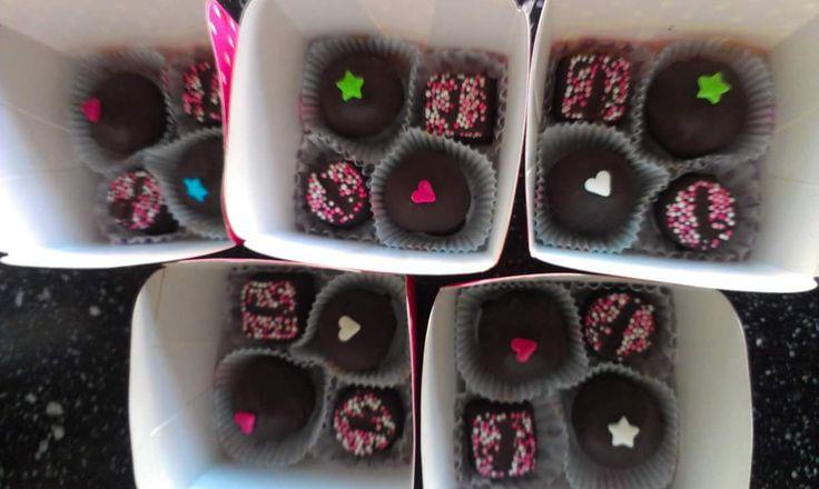 Home made chocolates.