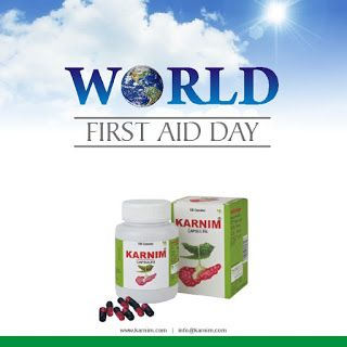 Today is World First Aid day.
