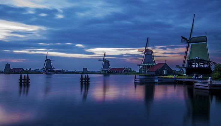 Dutch Evening - Zaanse Schans by Arijit Roychoudhury on 500px