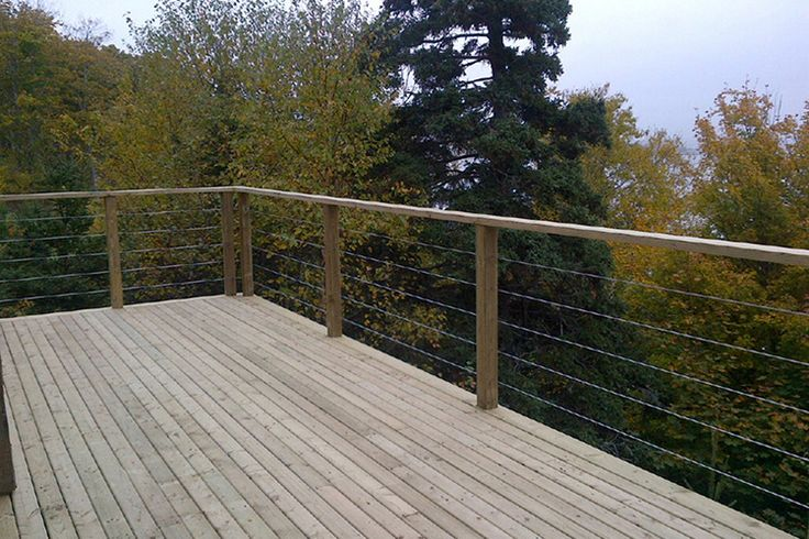 deck railing ideas | Modern Deck and Deck Railing Ideas 04
