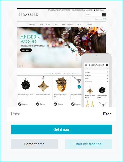 ecommerce website template free