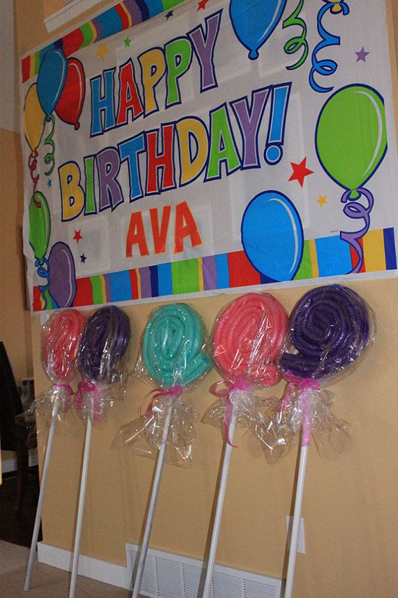 I'm selling these Giant Lollipop Decoration on Etsy, $30.00