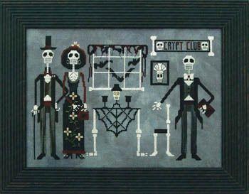 Crypt Club, The - Cross Stitch Pattern