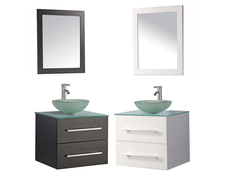 16 Extraordinary Wall Hung Bathroom Vanity Ideas