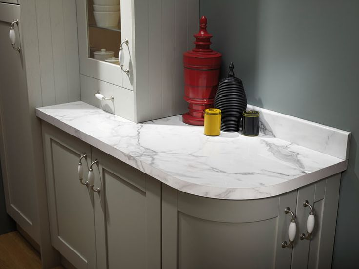 Calacatta Marble Prima Formica Laminated Worktop #homeimprovement #redecorate