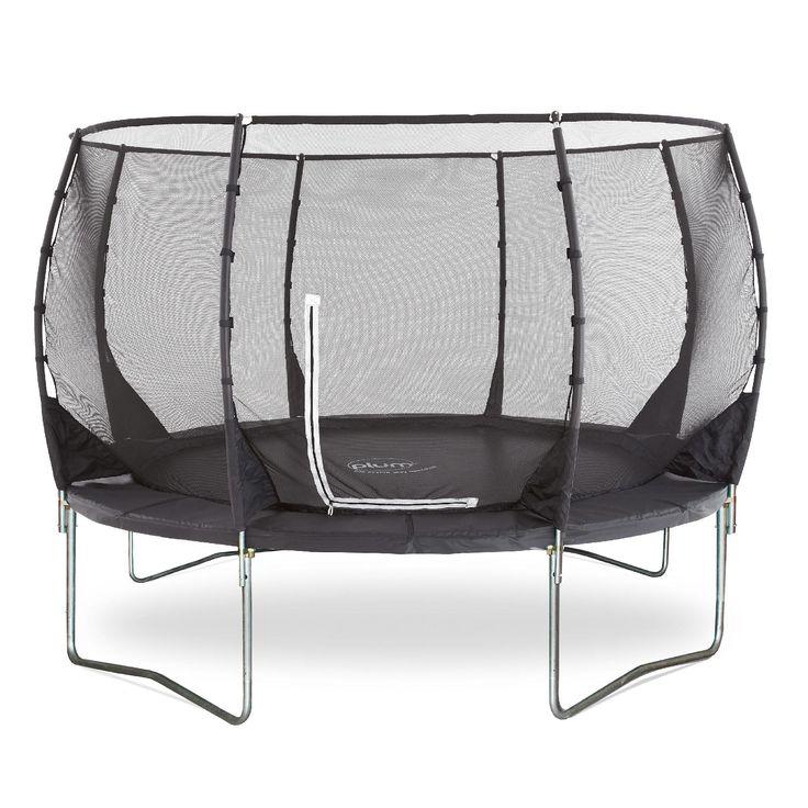 Plum®  Magnitude 10ft trampoline and enclosure