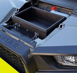 Awesome under hood storage box for Polaris Rzr!
