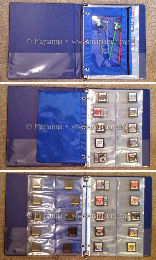 DIY Nintendo DS / 3DS Game Card Storage   Marianna   Connecticut Mom Blog