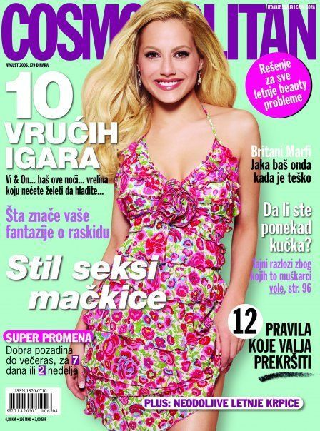 Brittany Murphy - Cosmopolitan Magazine [Serbia] (August 2006)