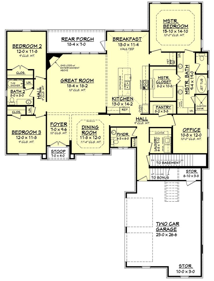 57 Best House Plans Images On Pinterest Country Homes