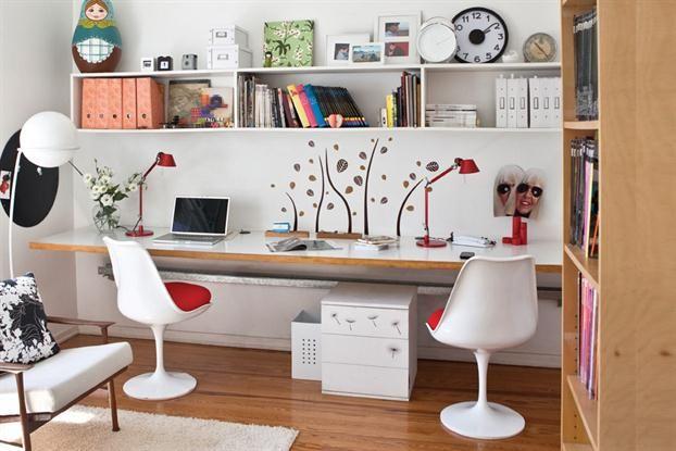 Escritorio. Trabajar en casa: ideas en el espacio | ESPACIO LIVING
