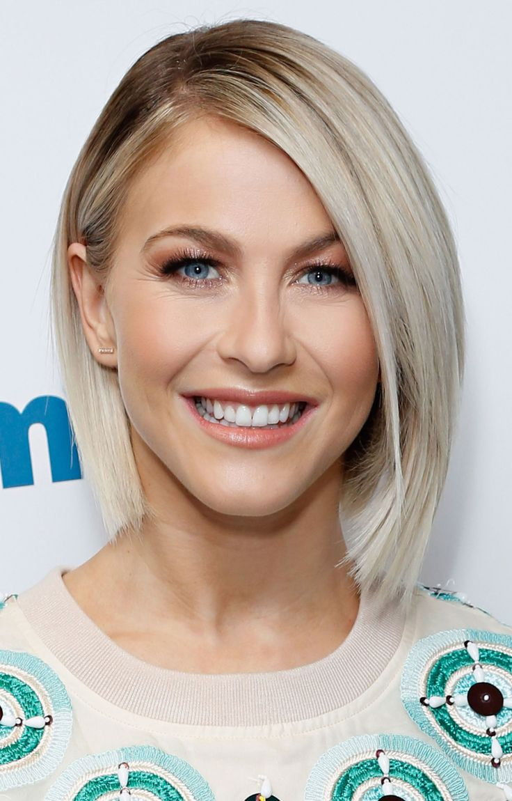 Uneven short layers are perfect for those looking to define their face. And a bob like Julianne's is easy to style in the midst of the morning rush.   - Redbook.com