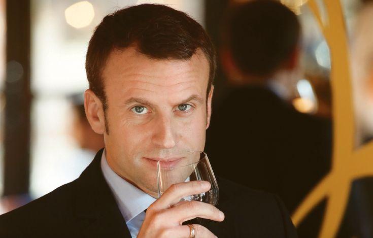 Emmanuel Macron, le président qui aimait le vin
