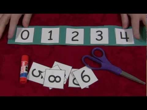 Cut and Glue Number Sequence