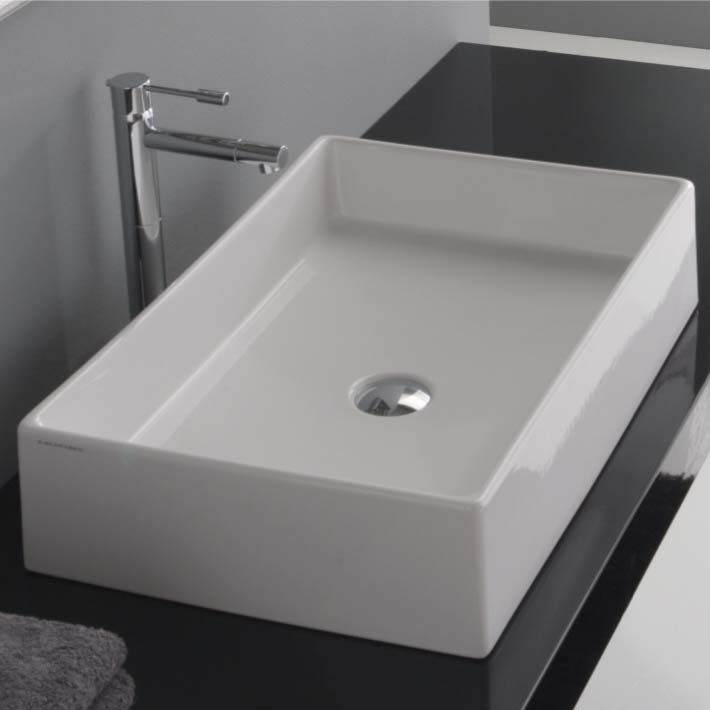 8031 60 Counter Top Wash Basin Without Tap Hole 710 710 Sinks Pinterest