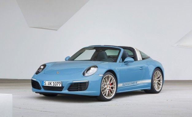 So Hot: Porsche Unveils Exclusive Design Edition 911 Targa 4S – News – Car and Driver   Car and Driver Blog